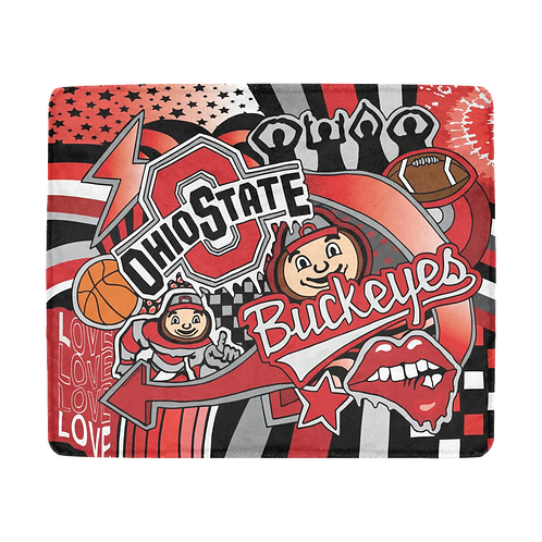 Ohio State Blanket