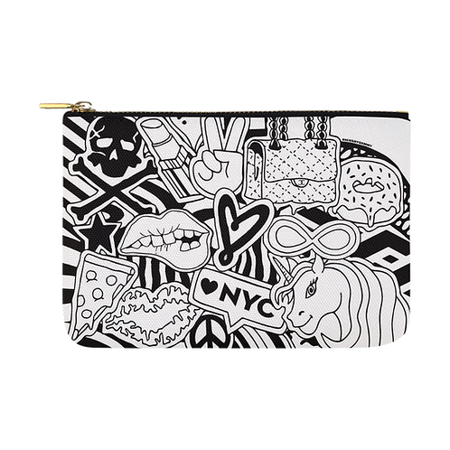 DIY- BW Vibes Pouch