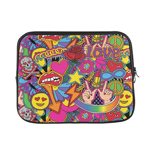 Love and Peace Laptop Sleeve