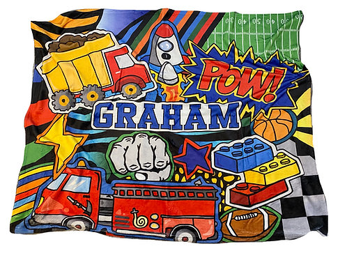 Pow Blanket- Graham