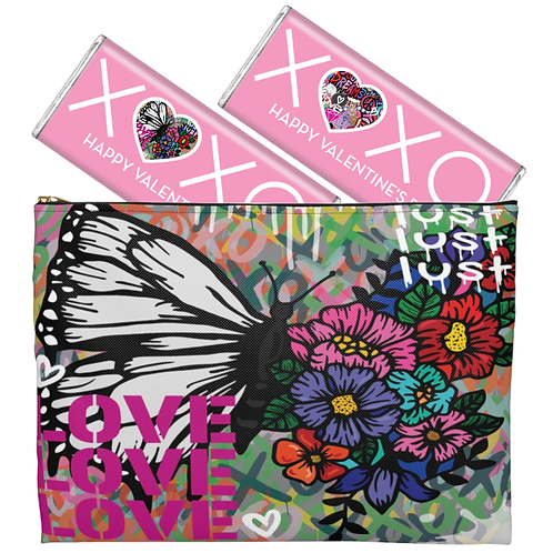 Love vs. Lust Pouch & Chocolate Bundle