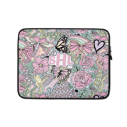 Flowers For All Laptop Sleeve