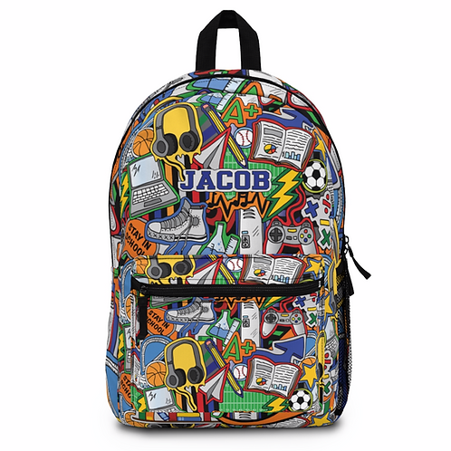 Stay In School Backpack