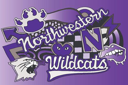 Northwestern Blanket