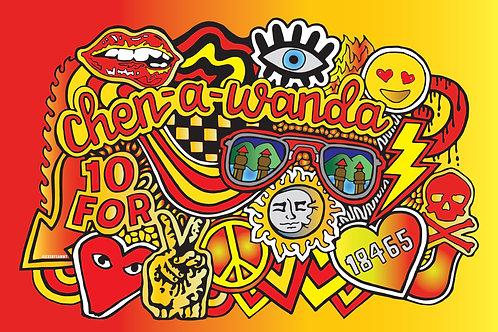 Chen-A-Wanda Pillow Case