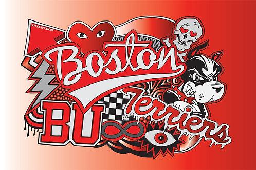 Boston University Blanket