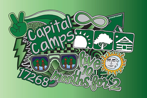 Capital Camps Blanket
