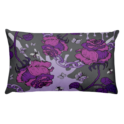 Purple Rose & Chains