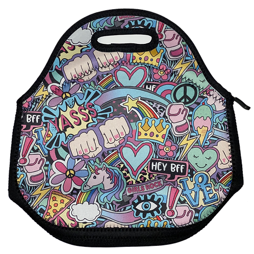 Girls Rock Lunch Tote
