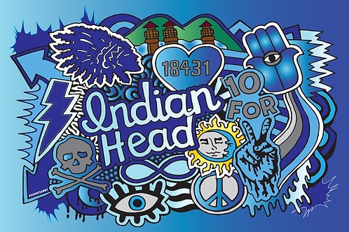 Indian Head Pouch