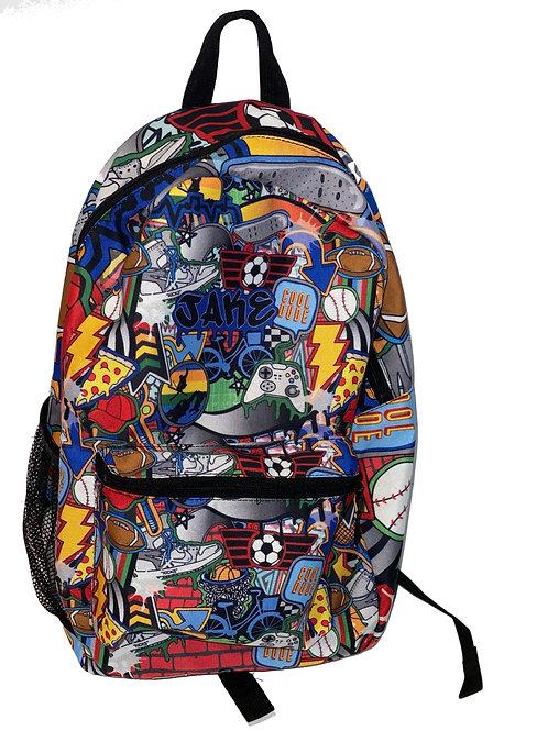 Cool Dude Backpack- Jake