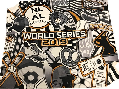 Limited Edition 2019 World Series Blanket