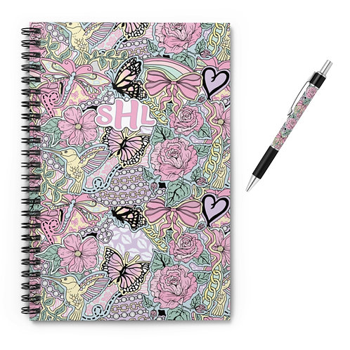Flowers For All Notebook & Pen (NEW!)