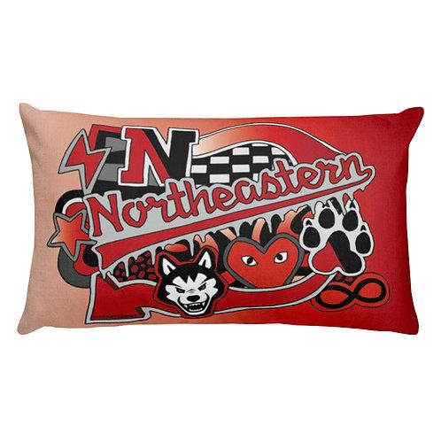 Northeastern Pillow