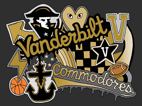 Vanderbilt Pillow Case