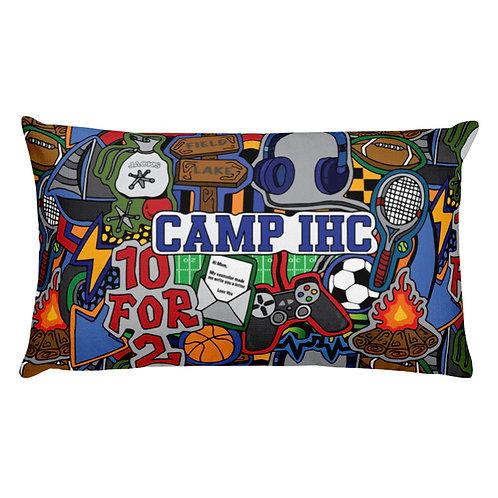 Camp Boy Throw Pillow