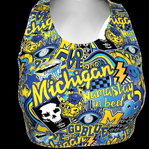 Michigan Sports Bra