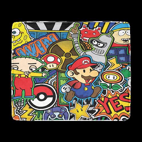 Cartoons, Games & Chill Blanket