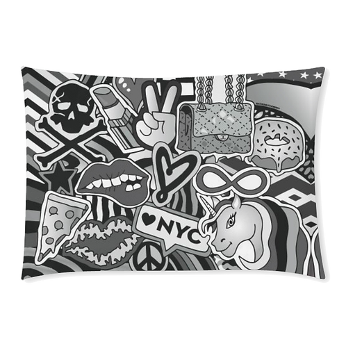 BW Vibes Pillow Case