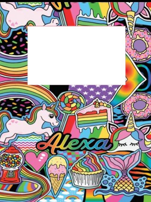 Rainbows & Unicorns Frame (NEW!)