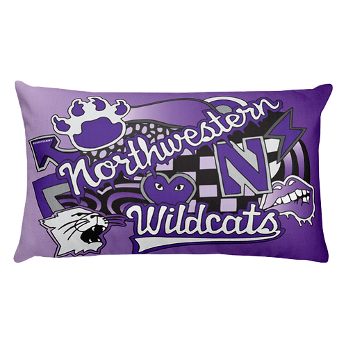 Northwestern Pillow