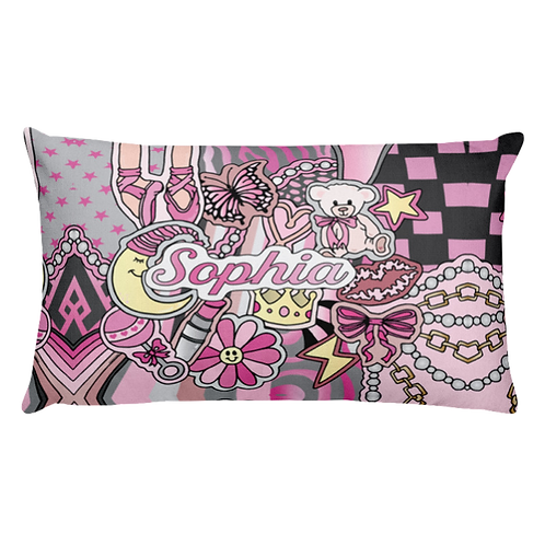 Baby Girl Lullaby Pillow