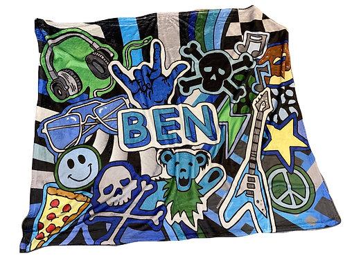 Rockstar Blanket- Ben