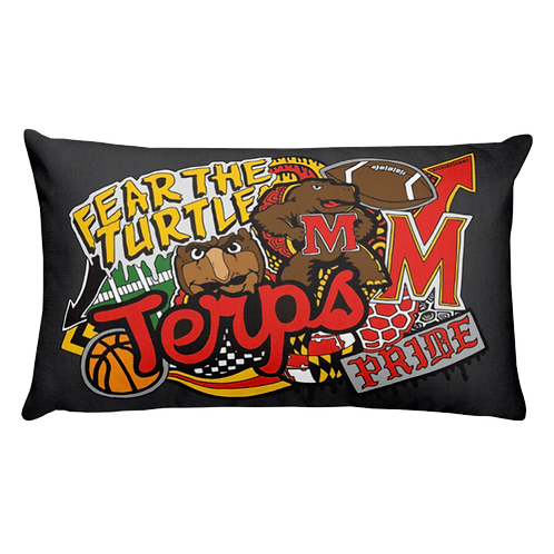 Boy College Pillow (select schools available)