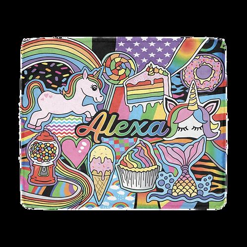 Rainbows & Unicorns Blanket
