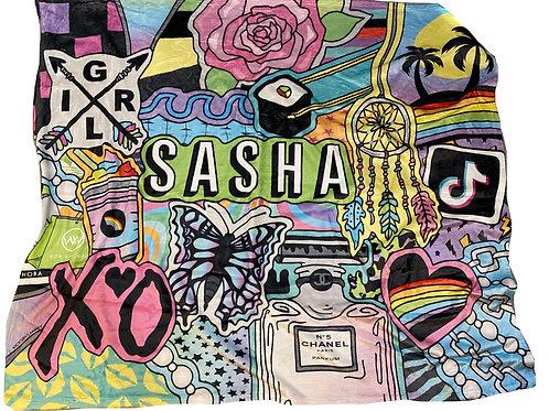 I Dream Blanket- Sasha