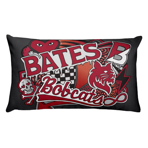Bates College Pillow