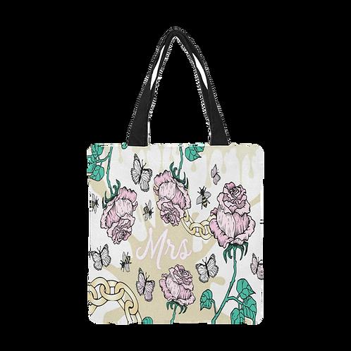 Rose & Chain Bridal Tote Bag