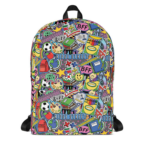 School's Cool Backpack (NEW!)
