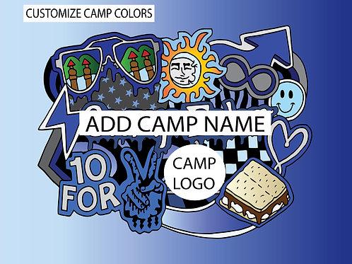 My Camp Pillow Case (CUSTOMIZE!)