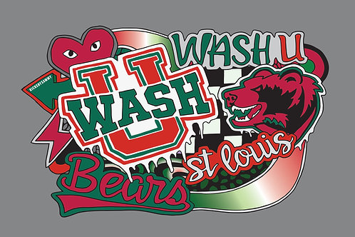 Wash U Pillow Case