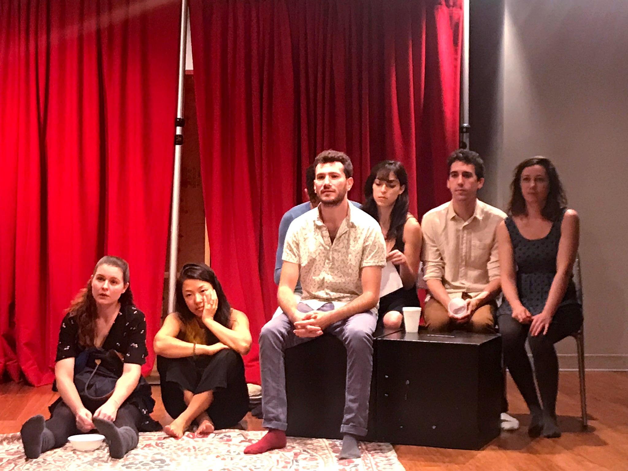 Sex Friends rehearsal (Sam French)
