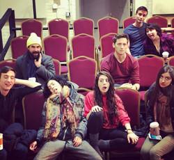 cast of Diaspora @ Gym at Judson