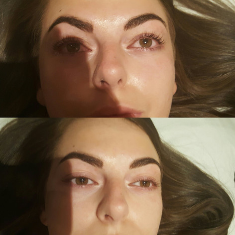 LVL Lashlift Before & After