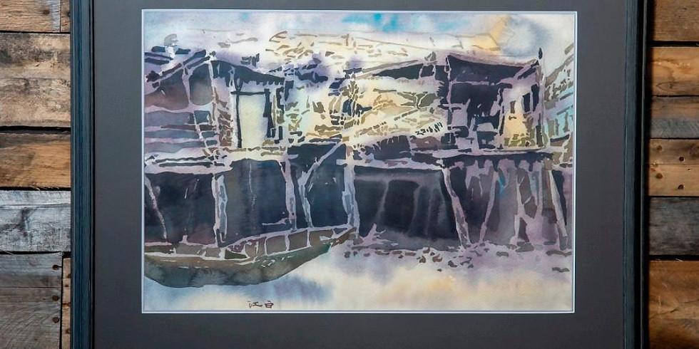 Cai JiangBai: Watercolors, Fine Art Auction
