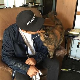 Kitty Kisses! #tortitude #ilovecats #cat