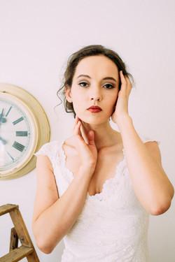 'Bride Goes Retro'