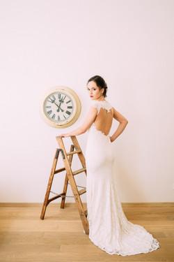 'Bride Goes Retro' shooting Photos: