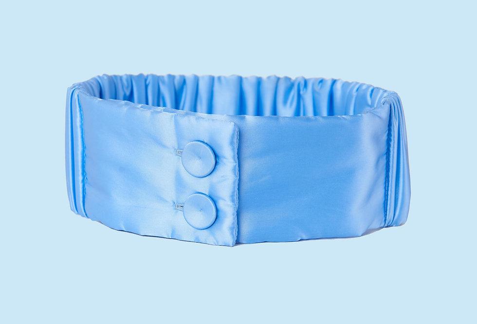 Padded Headband in Light Blue
