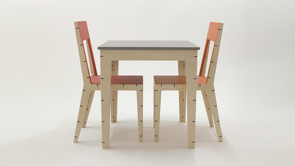Cable Dining Table | Square