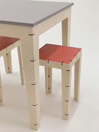 cable table and stool