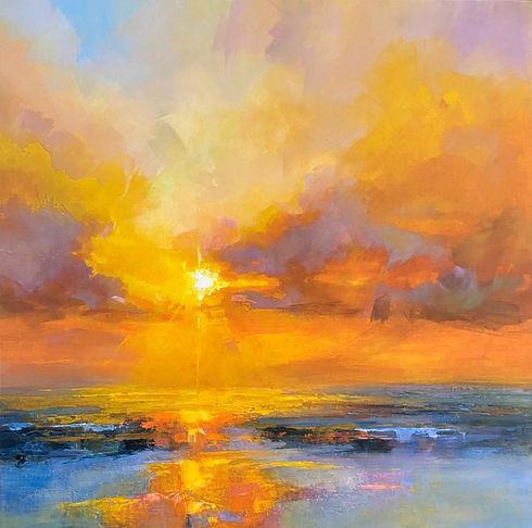 Sunset Horizons 98cm x 98cm.jpg