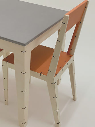 Cable Chair and Table