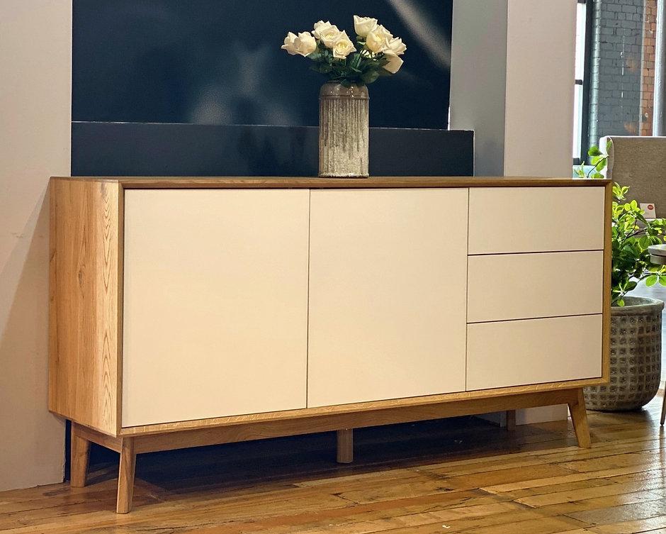 Tobin Large solid oak sideboard