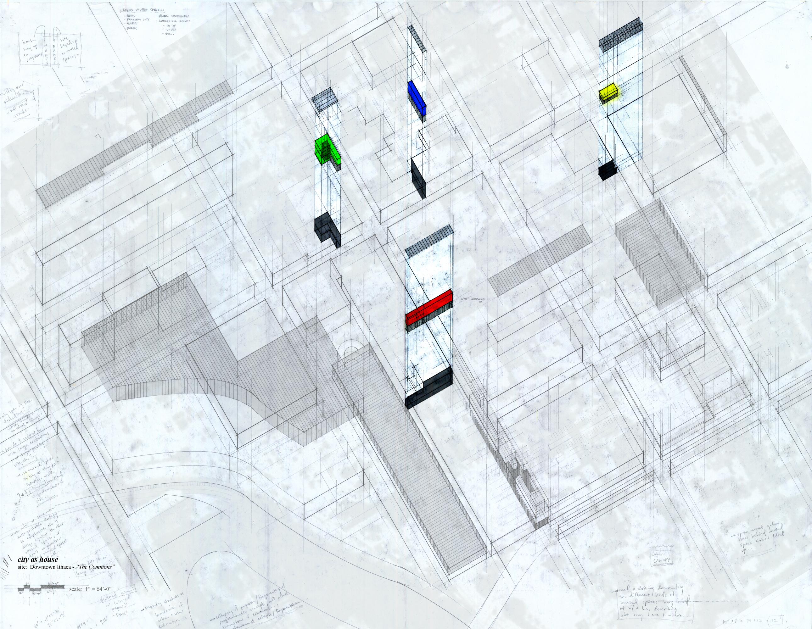 City As House - urban plan