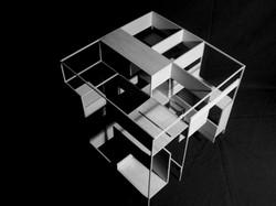 3 Cubes - study